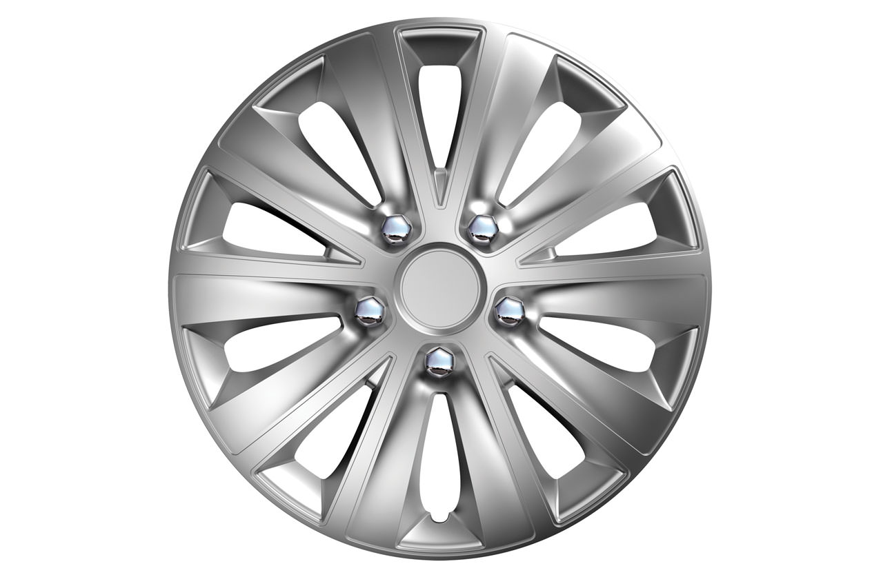 Puklice Rapide NC nuts chrome silver 15″