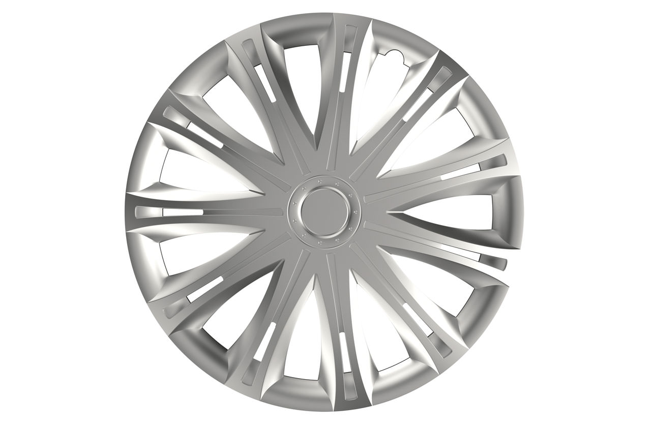 Puklice Spark silver 14″