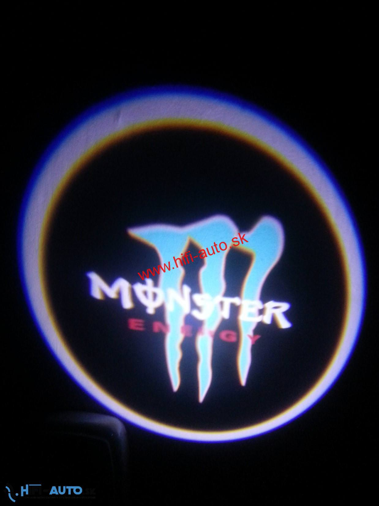 LED logo projektor Monster