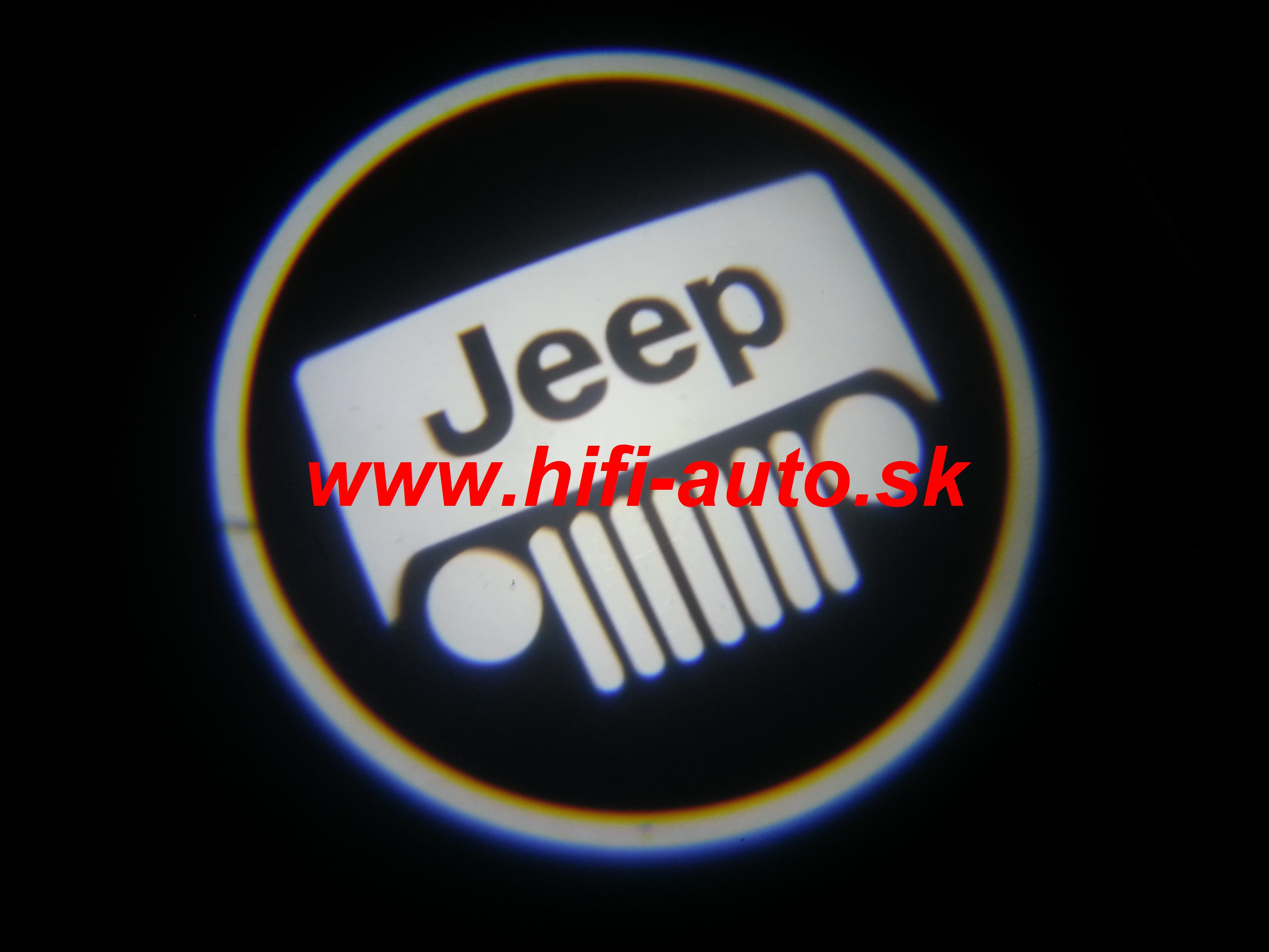 LED logo projektor Jeep