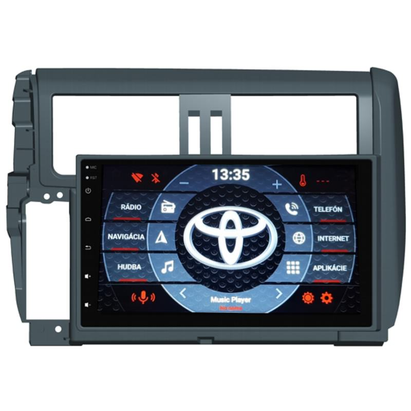 ANDROID 10 Toyota Land Cruiser 150 autorádio