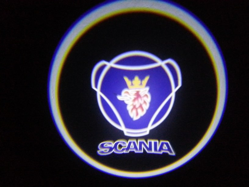 LED logo projektor Scania