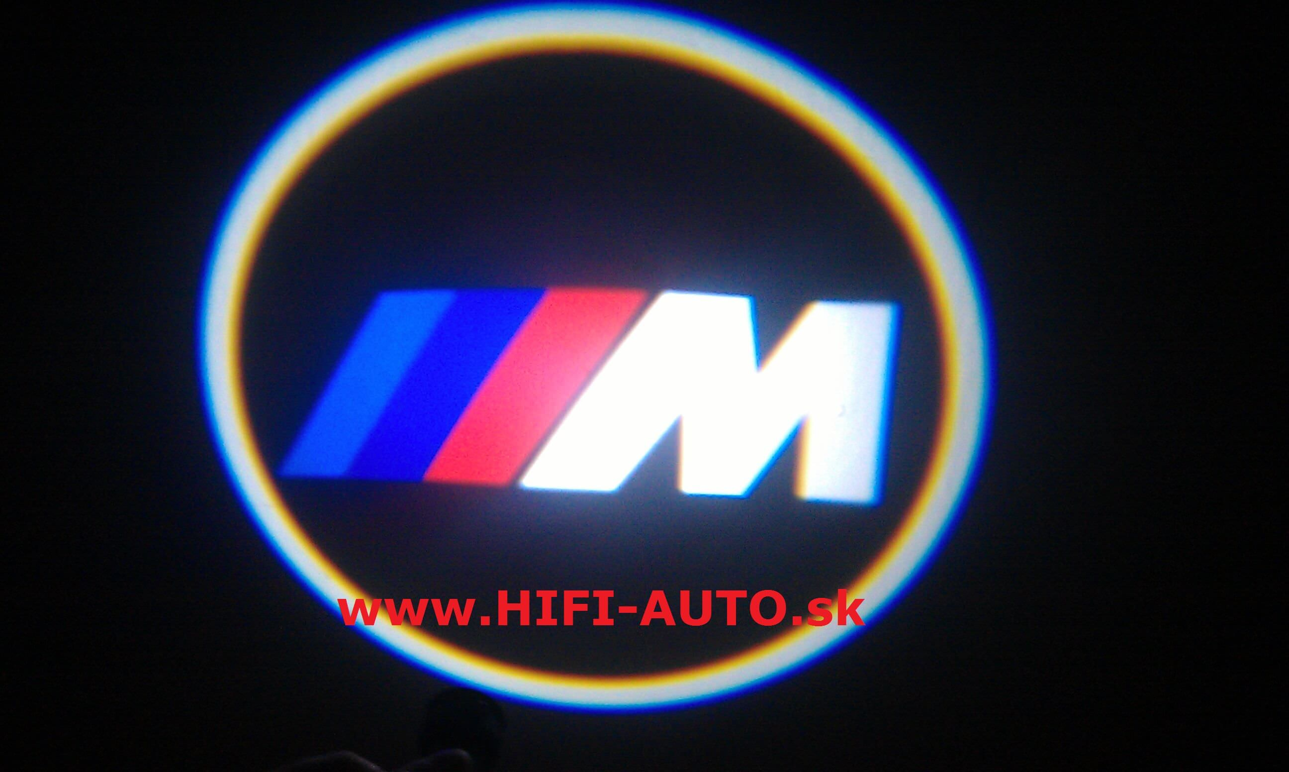 LED logo projektor BMW M