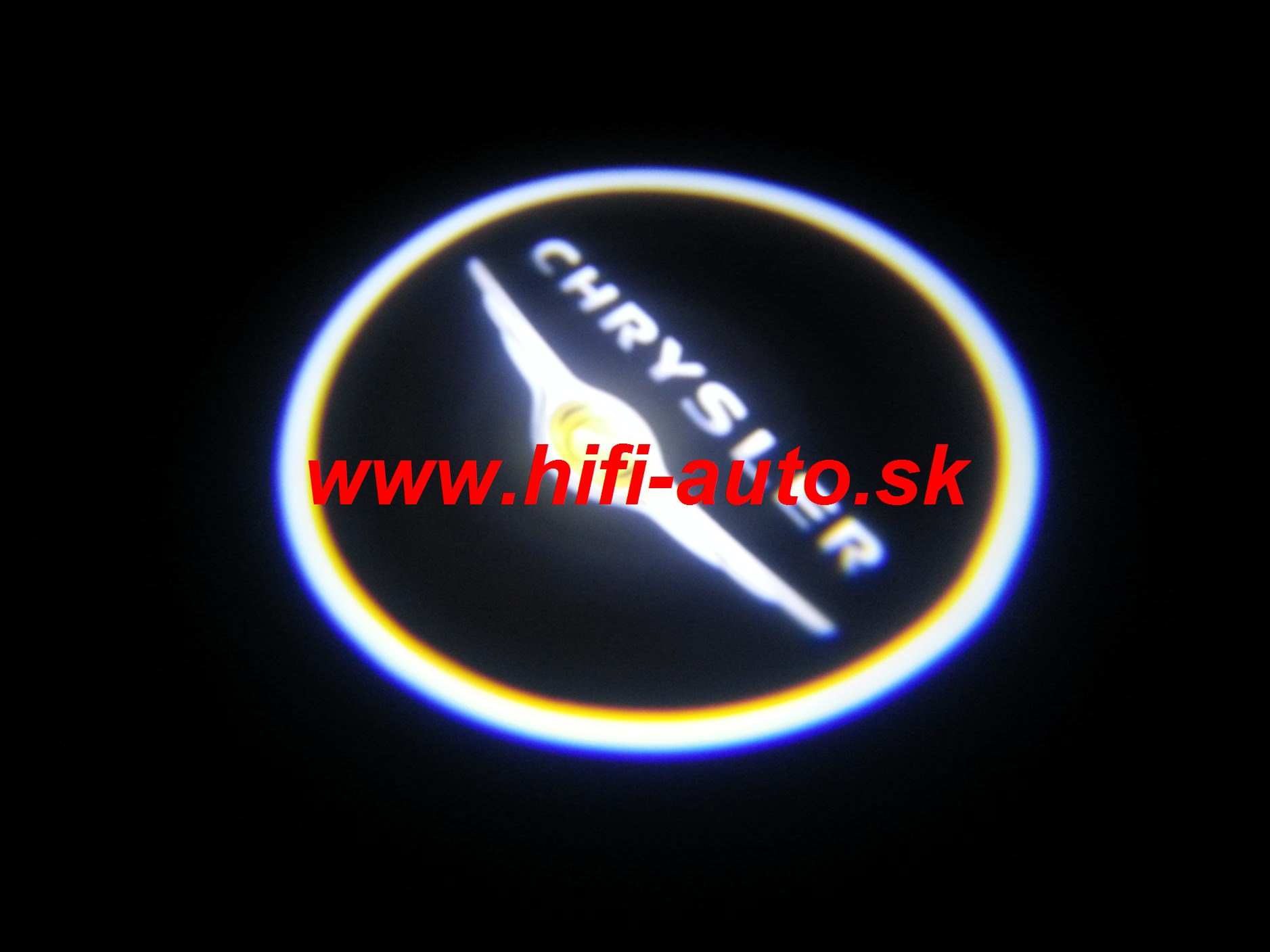 LED logo projektor Chrysler