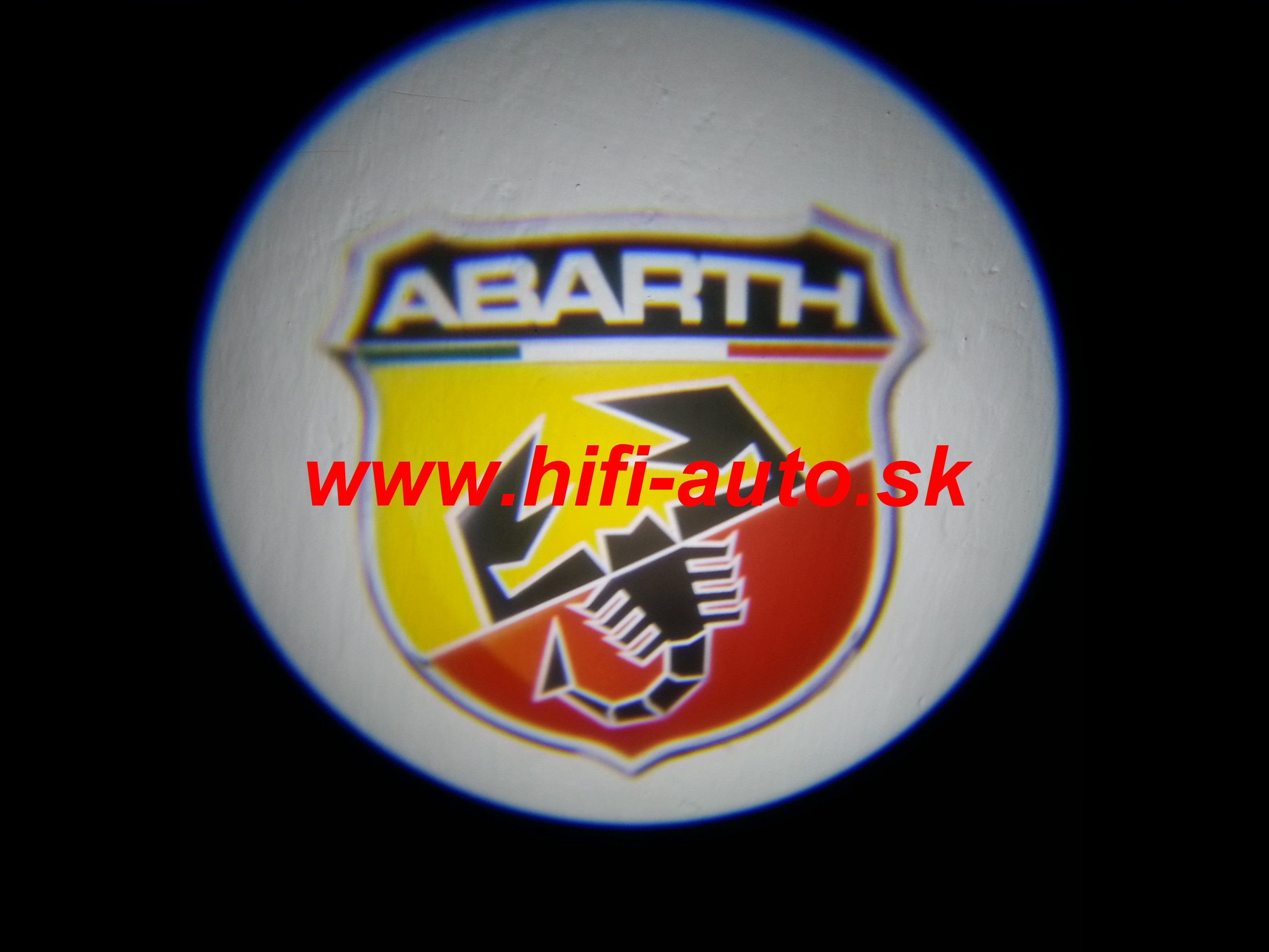LED logo projektor Fiat Abarth