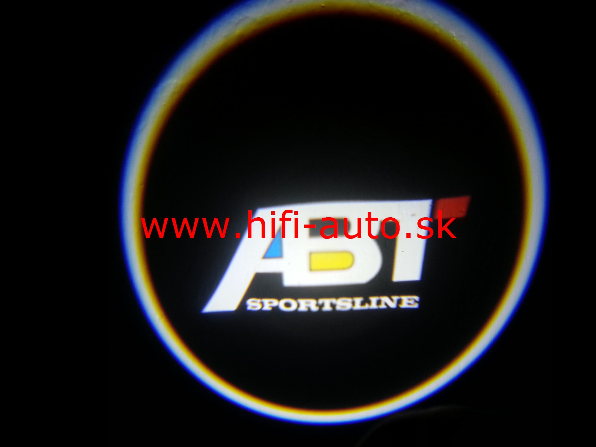 LED logo projektor ABT