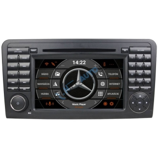 ANDROID 10 Mercedes ML autorádio