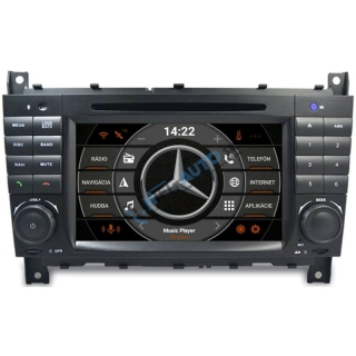 ANDROID 10 Mercedes W203 autorádio