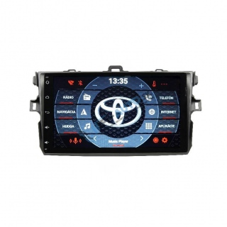 ANDROID 9 Toyota Corolla 2007-2012 9