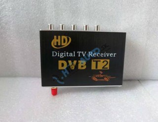DVB-T tuner s USB, 3 x video vystup