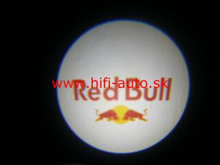 LED logo projektor Red Bull